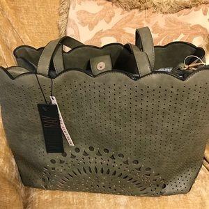 Handbags - Ladies Beautiful Tote - Green